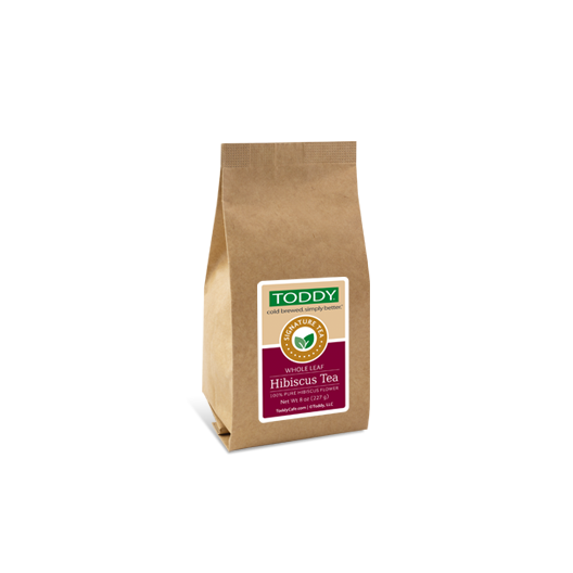 Eight ounce bag of Toddy Hibiscus Flowers Tea