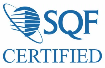 Toddy is SQF certified