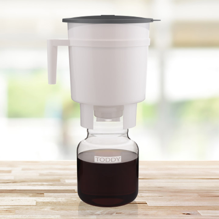 Toddy Cold Brew System sitting on counter