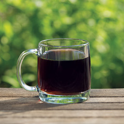 glass of fresh roasted cold brew specialty coffee